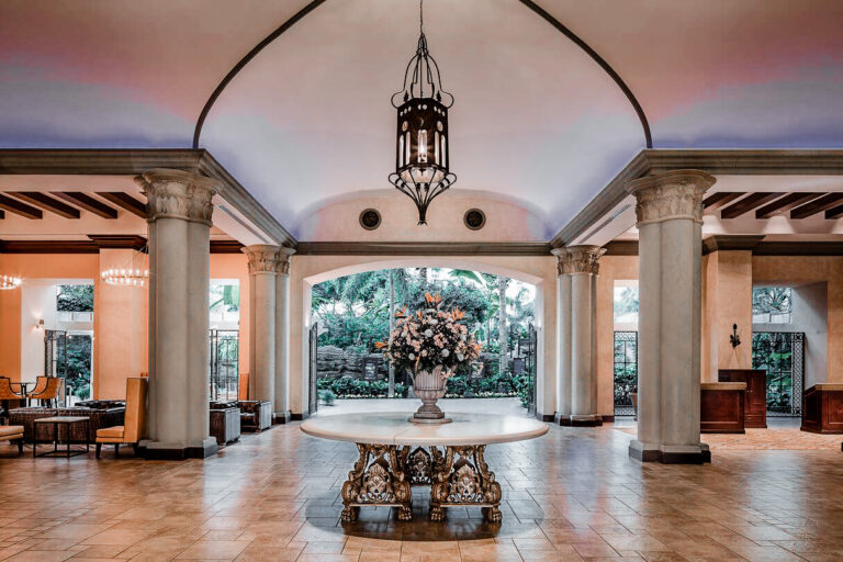 Luxury elements at every turn at the Gaylord