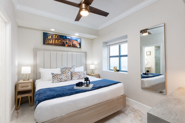 Enjoy luxury rooms at Westgate in Orlando. Everyone will be happy during this Orlando Family Vacation!