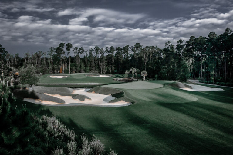 Impeccable greens welcome you as you are challenged at every stroke