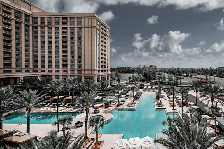 Waldorf Astoria is perfect for your vacation to celebrate the 50th anniversary at Disney