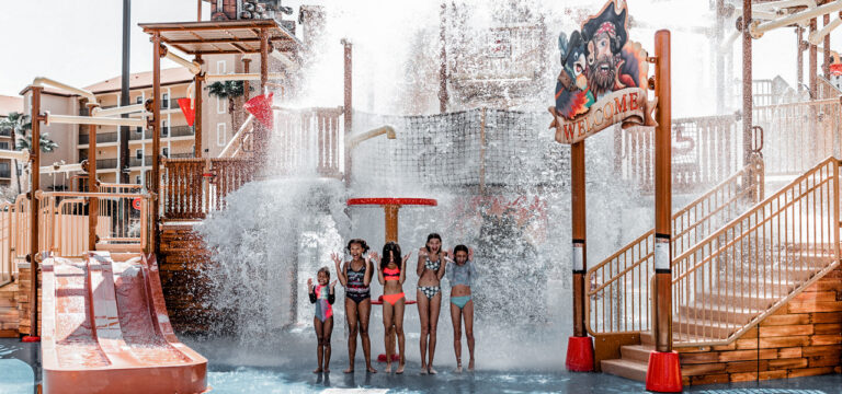 The waterpark is fun for all ages!