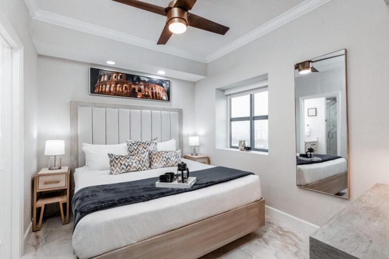 Remodeled stunning bedroom at Westgate Town Center