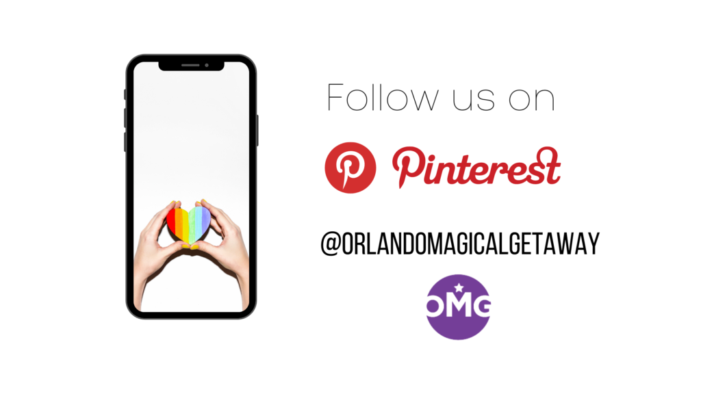 Follow us on Pinterest for all up to date events going on in Orlando including Orlando Pride