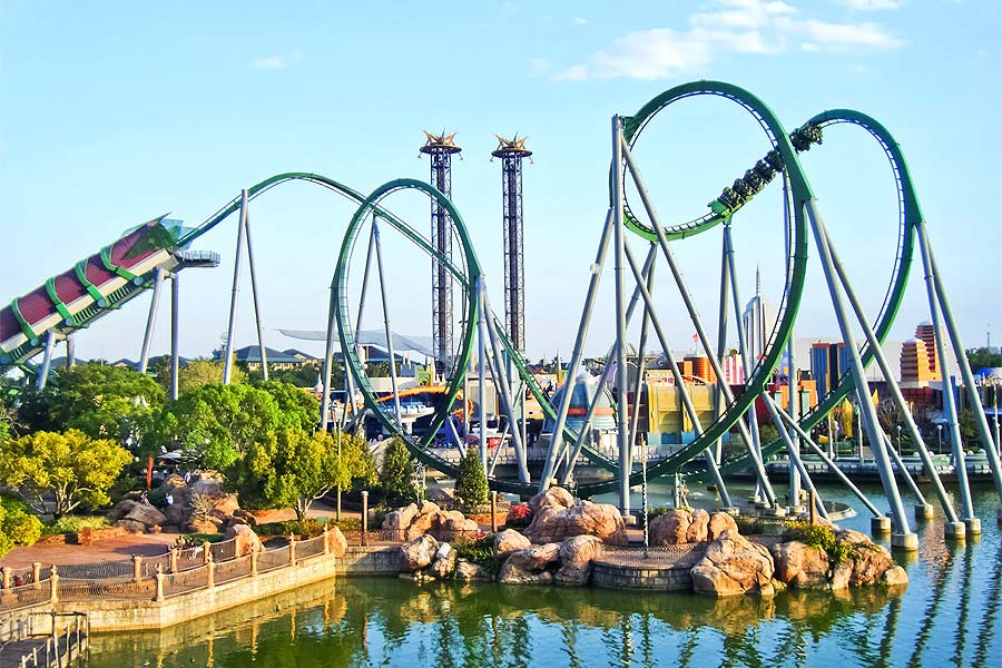 The Incredible Hulk Coaster®