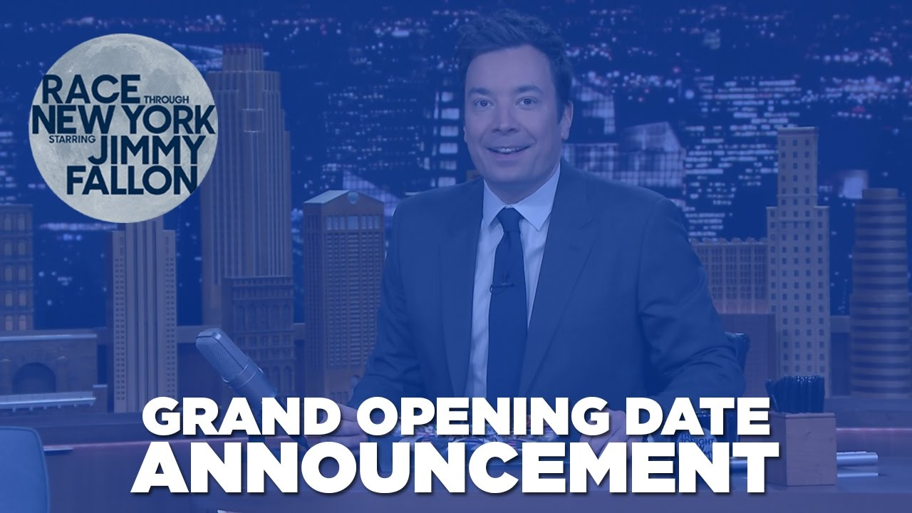 """""""Race Through New York Starring Jimmy Fallon,"""" Will Officially Open On April 6"""