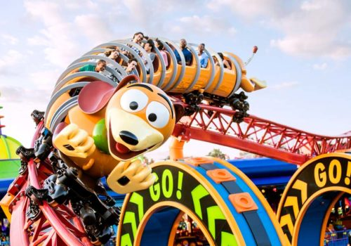 NEW - Toy Story Land. ©Disney ©Disney/Pixar ©POOF-Slinky, LLC